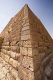 Het perspectief van de piramide royalty-vrije stock afbeeldingen