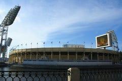Het Petrovsky-Stadion, St. Petersburg, Rusland Stock Foto