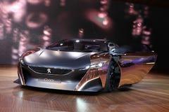 Het Peugeot Concept van het Onyx royalty-vrije stock afbeeldingen