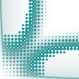 Het pictogram omcirkelt dynamische textuur Royalty-vrije Stock Fotografie