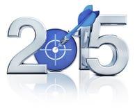 het pictogram van 2015 Royalty-vrije Stock Foto
