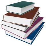 Het pictogram van boeken/van notitieboekjes Stock Afbeeldingen