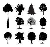 Het pictogram van bomen Royalty-vrije Stock Afbeelding