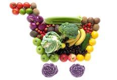 Het pictogram van boodschappenwagentjekruidenierswinkels Royalty-vrije Stock Foto