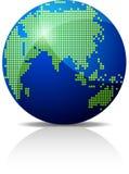 Het pictogram van de aarde. Royalty-vrije Stock Afbeeldingen