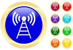 Het pictogram van de antenne stock illustratie