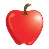 Het pictogram van de appel Royalty-vrije Stock Afbeeldingen