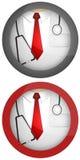 Het pictogram van de arts Stock Foto's