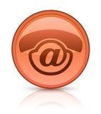 Het pictogram van de audio-messagerie Stock Fotografie