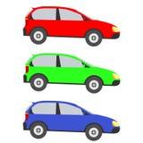 Het pictogram van de auto Stock Foto's