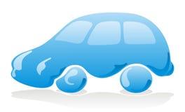 Het pictogram van de autowasserette Stock Afbeelding