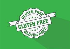 Het pictogram van de bedrijfs gluten vrij rubberzegel concept Royalty-vrije Stock Foto