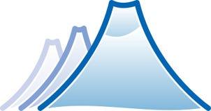 Het pictogram van de berg Royalty-vrije Stock Foto's