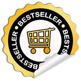 Het pictogram van de best-seller stock illustratie