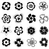 Het pictogram van de bloem Stock Fotografie