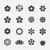 Het pictogram van de bloem Royalty-vrije Stock Foto