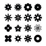 Het pictogram van de bloem royalty-vrije illustratie