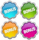 Het pictogram van de bonus Royalty-vrije Stock Foto's