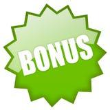 Het pictogram van de bonus stock illustratie