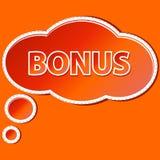Het pictogram van de bonus royalty-vrije illustratie