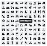 Het pictogram van de bouw Stock Foto