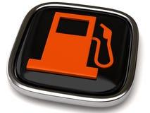 Het pictogram van de brandstof vector illustratie