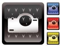 Het pictogram van de camera Stock Foto