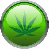 Het pictogram van de cannabis stock illustratie