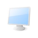 Het pictogram van de computermonitor Royalty-vrije Stock Foto