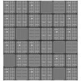 het pictogram van de container vectorillustratie abstracte illustratie als achtergrond Royalty-vrije Stock Foto's