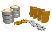 Het pictogram van de database Stock Afbeeldingen