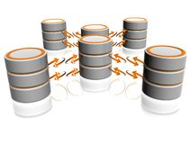 Het pictogram van de database Royalty-vrije Stock Afbeelding