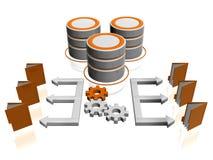Het pictogram van de database Royalty-vrije Stock Fotografie