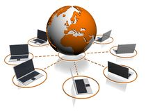 Het pictogram van de database Stock Foto