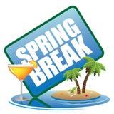 Het pictogram van de de lenteonderbreking Stock Afbeelding