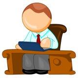 Het pictogram van de directeur royalty-vrije illustratie