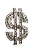 Het pictogram van de dollar Royalty-vrije Stock Foto's