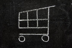 Het pictogram van de elektronische handel Royalty-vrije Stock Afbeelding