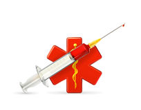 Het pictogram van de geneeskunde Royalty-vrije Stock Foto