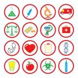 Het pictogram van de geneeskunde Royalty-vrije Stock Foto's