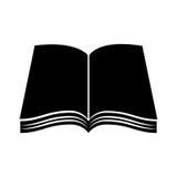 Het pictogram van de handboekschool Stock Foto