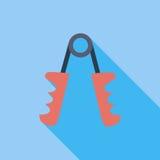 Het pictogram van de handexpander Stock Afbeeldingen