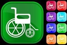 Het pictogram van de handicap Royalty-vrije Stock Foto's