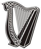 Het pictogram van de harp Royalty-vrije Stock Foto's