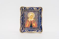 Het pictogram van de Heilige Martelaar Valentina Stock Fotografie