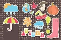 Het pictogram van de herfst Royalty-vrije Stock Fotografie