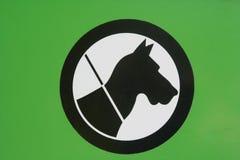 Het pictogram van de hond/van de uitloging Royalty-vrije Stock Foto