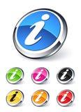 Het pictogram van de informatie Royalty-vrije Stock Afbeelding