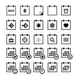 Het pictogram van de kalender stock illustratie