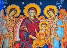 Het pictogram van de kerk Stock Afbeelding
